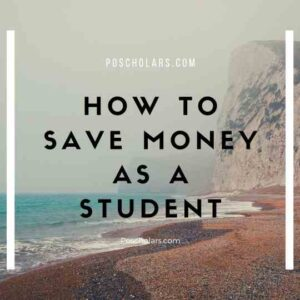 How to save money efficiently as a student